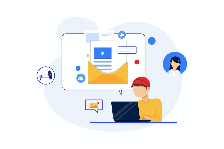 Email Marketing Concept Digital Marketing